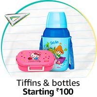 Tiffin boxes & water bottles