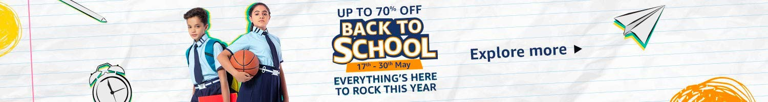 Back to School | Everything's here to rock this year
