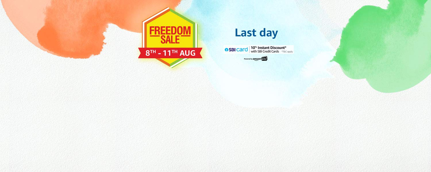 Amazon Freedom Sale: 8th - 11th August 2019
