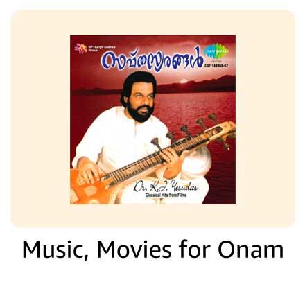 Music, Movies for Onam