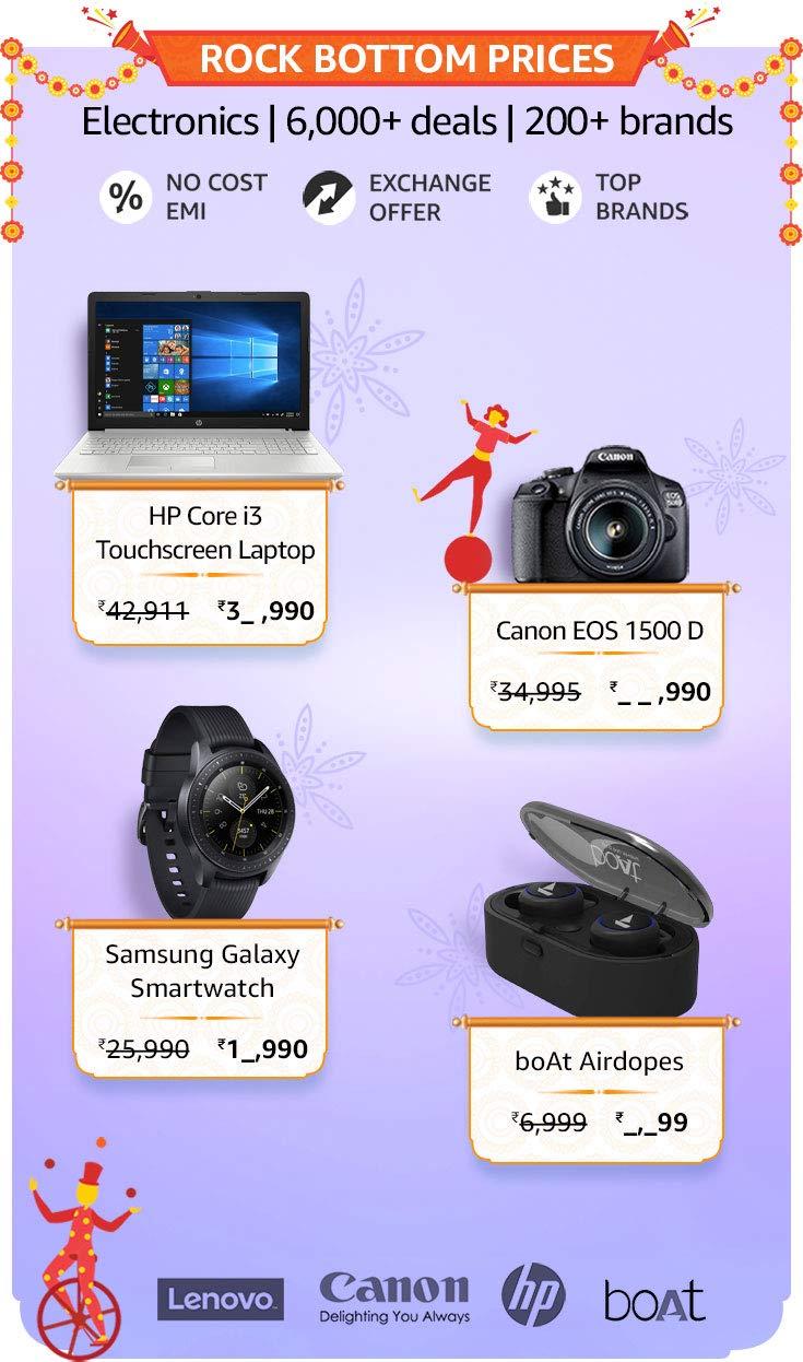 amazon electronics discounts