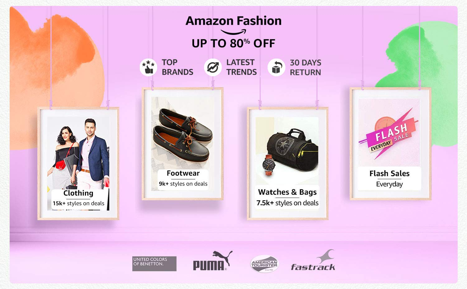 Fashion up to 80% off