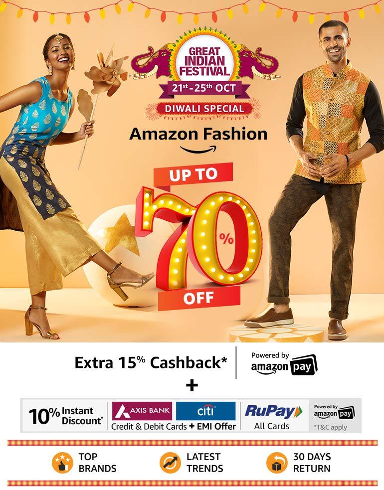 Amazon fashion upto 90% off