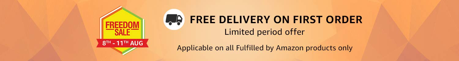 Free Delivery on first order