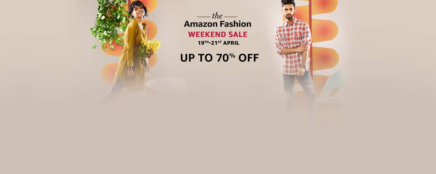 Up to 70% off | Amazon Fashion Weekend Sale