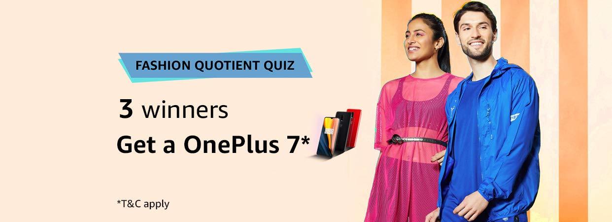 Amazon In Fashion Quotient Quiz Announcement Fashion