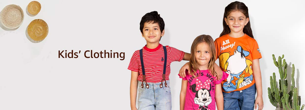 78d65e4cd5df Kids clothing: Buy kids' clothing online at Best Prices in India ...