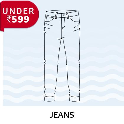 Jeans under 599