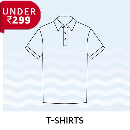 Tshirts under 299