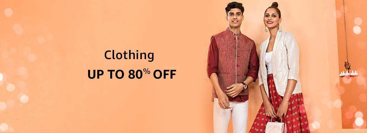 40% - 80% Off Clothing