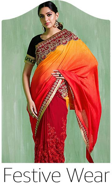 0d9cec4b52 Sarees - Buy sarees online at Amazon.in