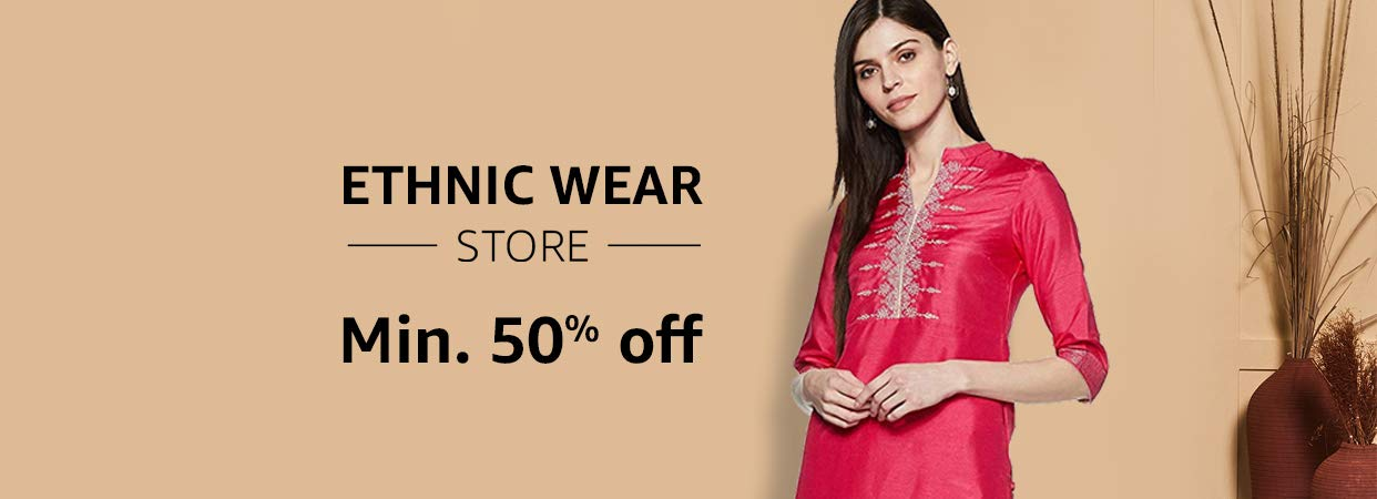 d6c0d3be01 Ethnic wear: Buy ethnic wear online at best prices in India - Amazon.in