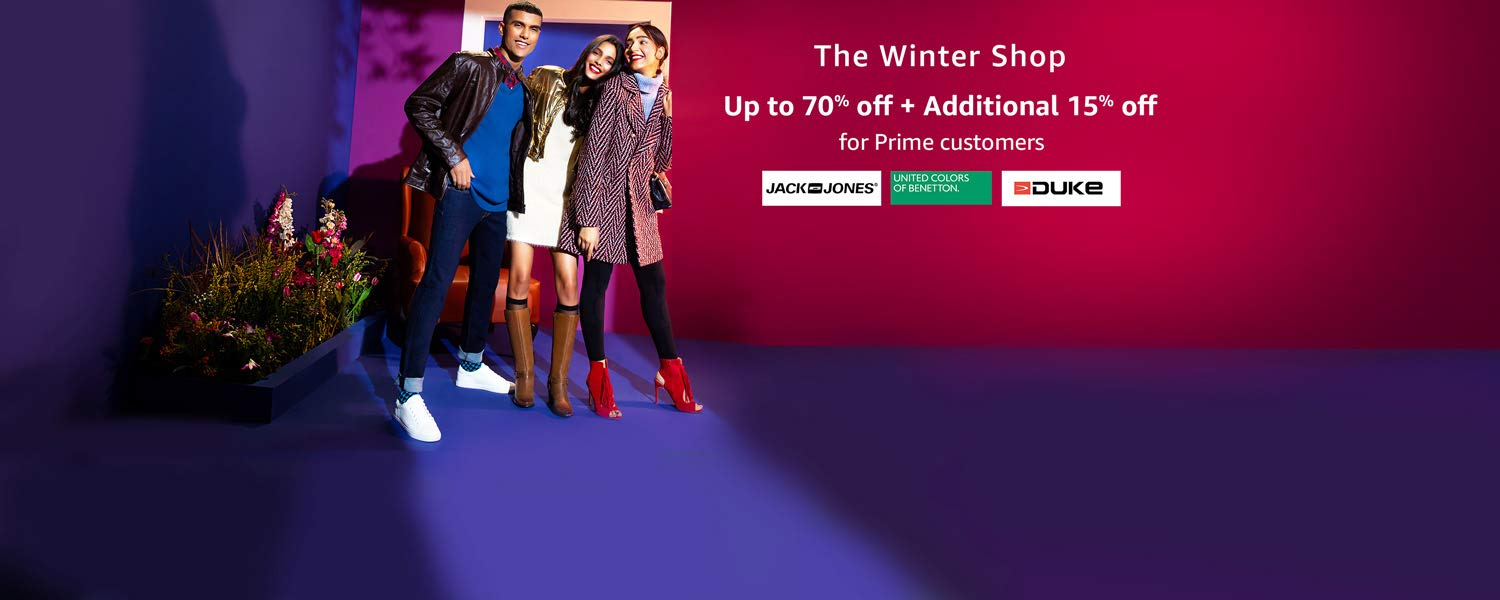 The winter shop | Up to 70% Off + 15% off for prime customers