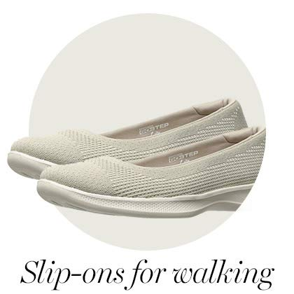 Slip-ons for walking