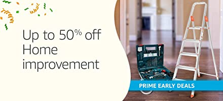 Up to 50% off: Tools & home improvement