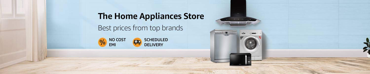 Buy Large Appliances Online At Best Prices In India Buy Air Conditioners Refrigerators Washing Machines Online Amazon In