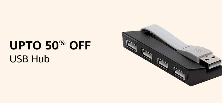 upto 50%off USB hub