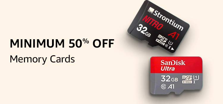 memorycards 50%off