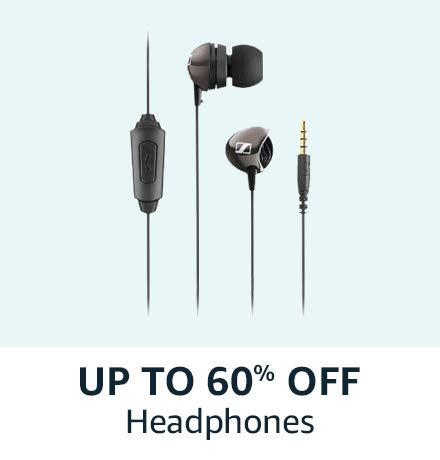 Upto 60% off on Headphones