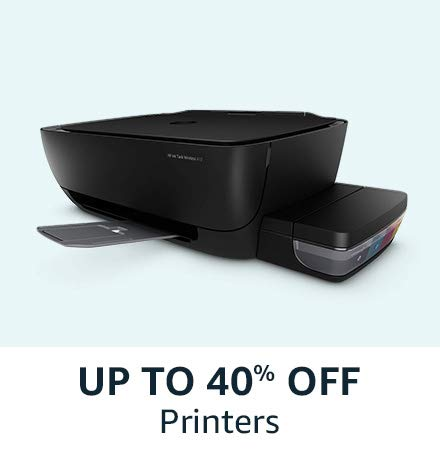 Upto 40% off on Printers