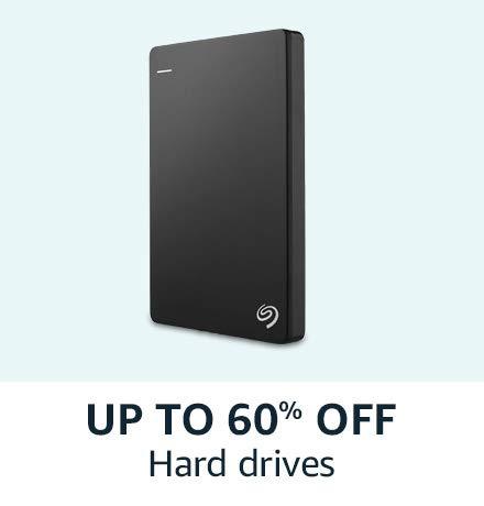 Upto 60% off on Harddrives