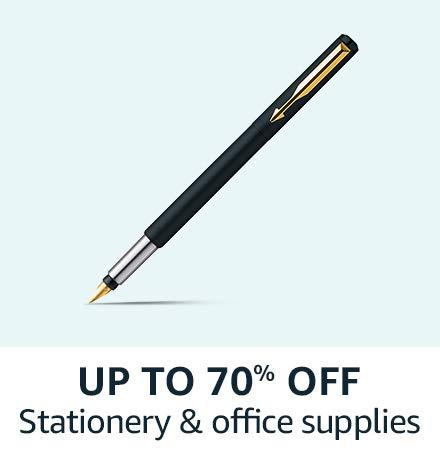 Upto 70% off on Stationery