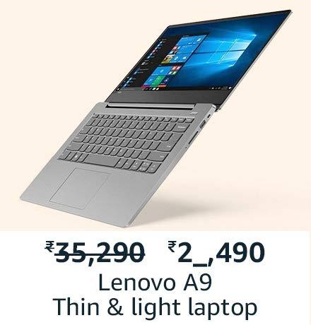 Lenovo thin and light