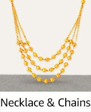 Necklace and chains