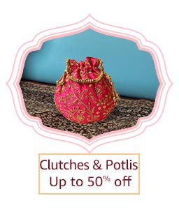 Clutches & Potlis | Up to 50% off