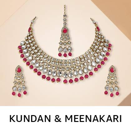 kundan and meenakari
