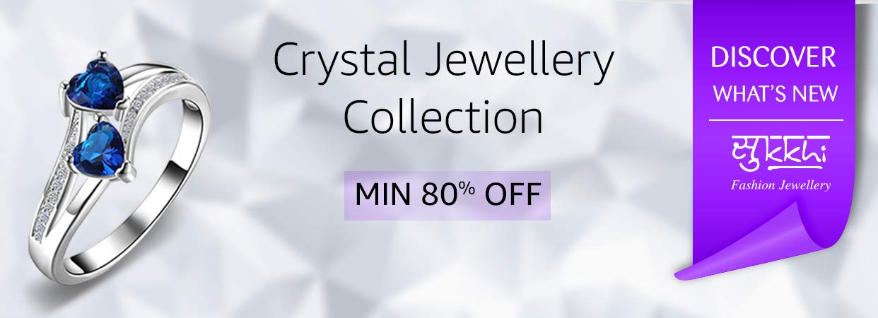 Sukkhi crystal collection