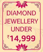 Diamond Jewellery Under 14,999/-