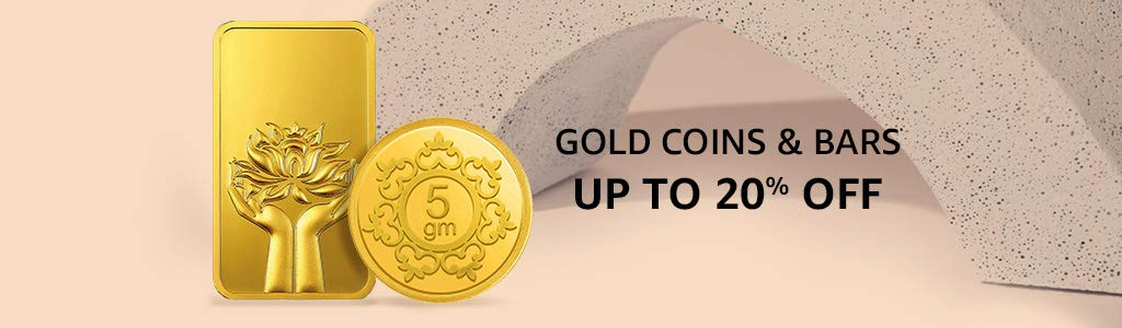 Gold Coins & Bars Up To 20% OFF