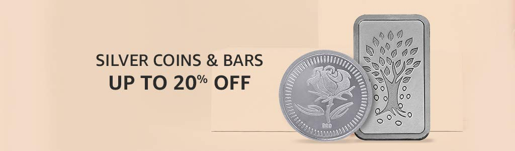 SILVER COINS & BARS | UP TO 20% OFF