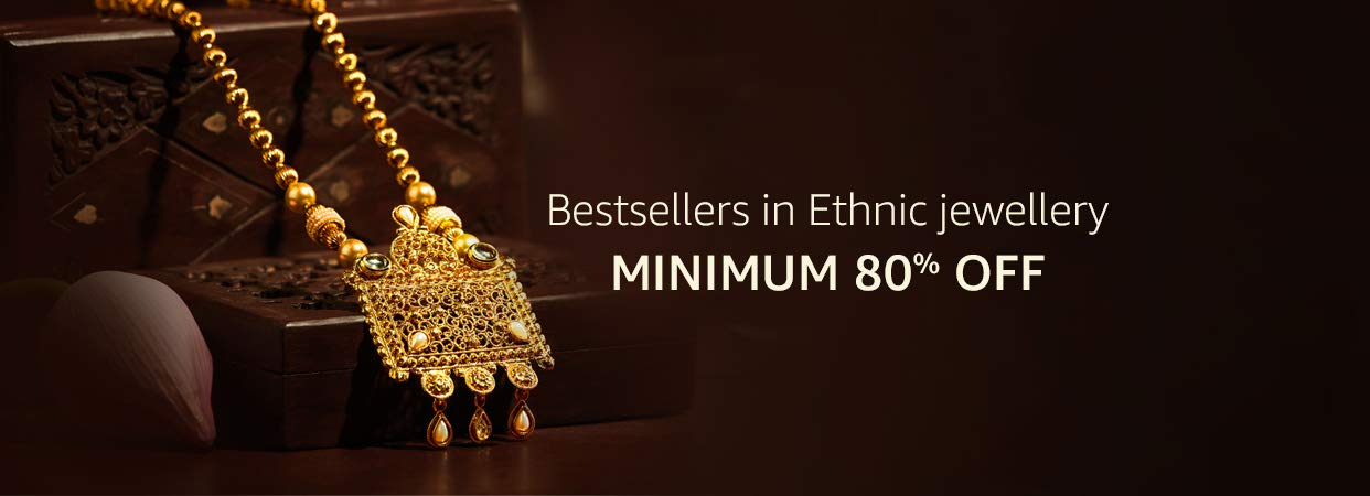 Imitation Jewellery Buy Bridal Temple Antique Jewellery Sets Online At Best Prices In India Amazon In