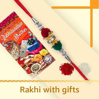 rakhi with gift