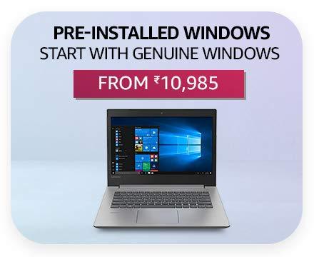 Pre-Installed Windows
