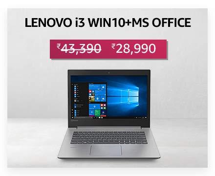 Lenovo i3 Win 10