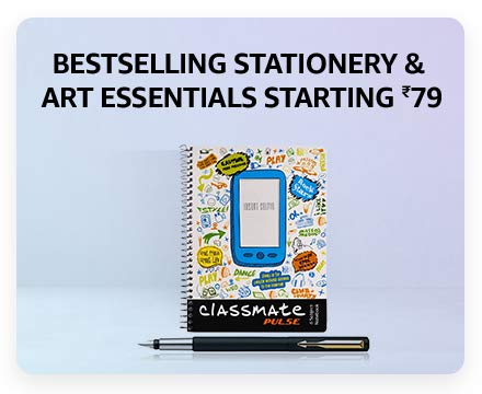 Bestselling stationery & Art essentials Starting ₹79