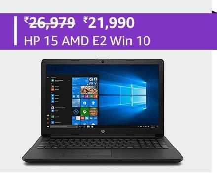 HP 15 AMD E2 Win 10