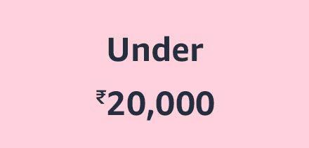 Under ₹20,000