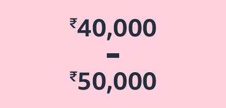 ₹40,000 - ₹50,000