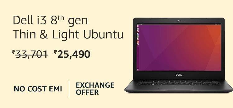Dell i3 8th Gen Ubuntu