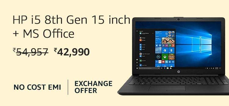 HP i5 8th Gen