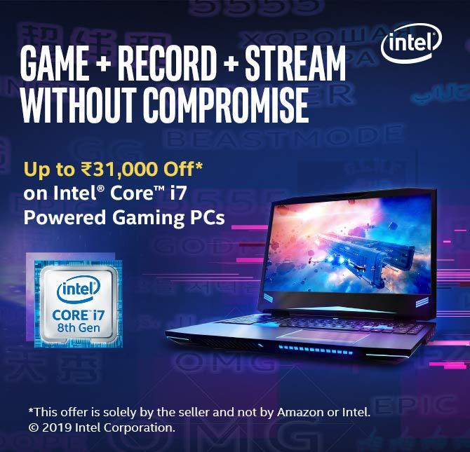 Intel gaming laptops