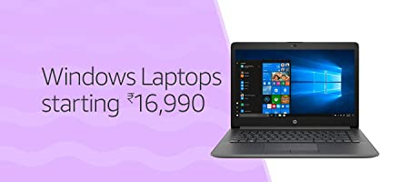Windows Laptops starting ₹16,990