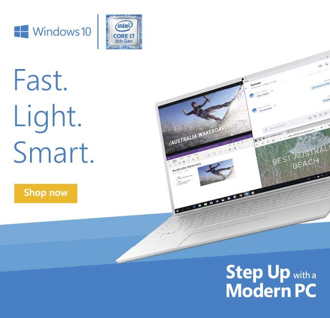 Step up with a Modern PC