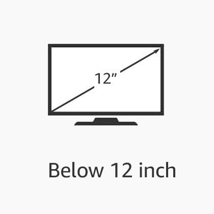 "Below 12"" Inch"