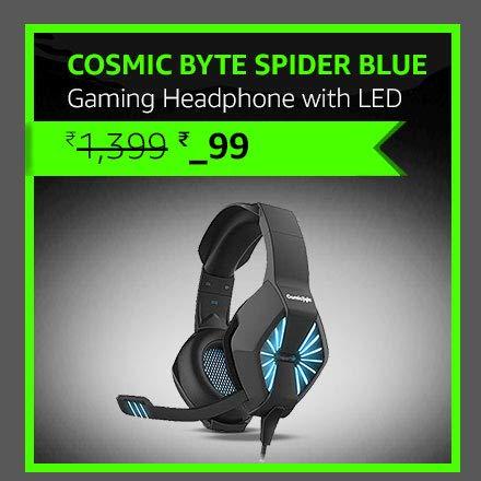 Cosmic Byte Spider Blue