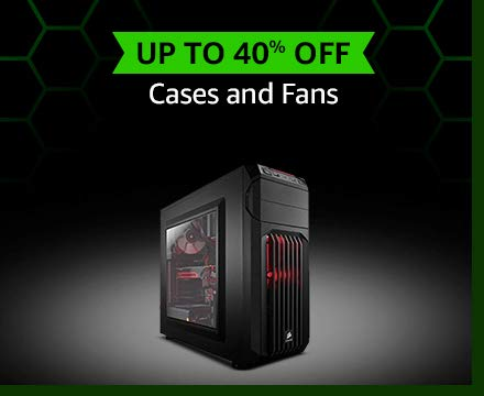 Cases and Fans Up to 40% off